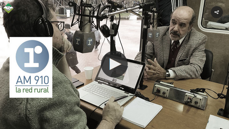 Entrevista a Abel Guerrieri – La Red Rural – AM 910 – 23-07-2018